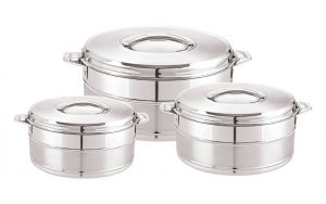 Milano Silver Set Of 3